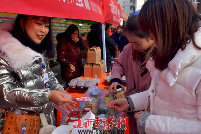 元旦春节有创意  线上线下同发力                                 m88明升在线广灵县电商年货节火爆来袭(图文)