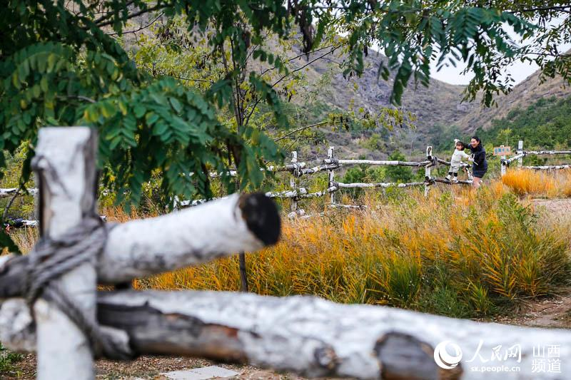 m88明升在线定襄凤凰山色彩滨纷、层林尽染